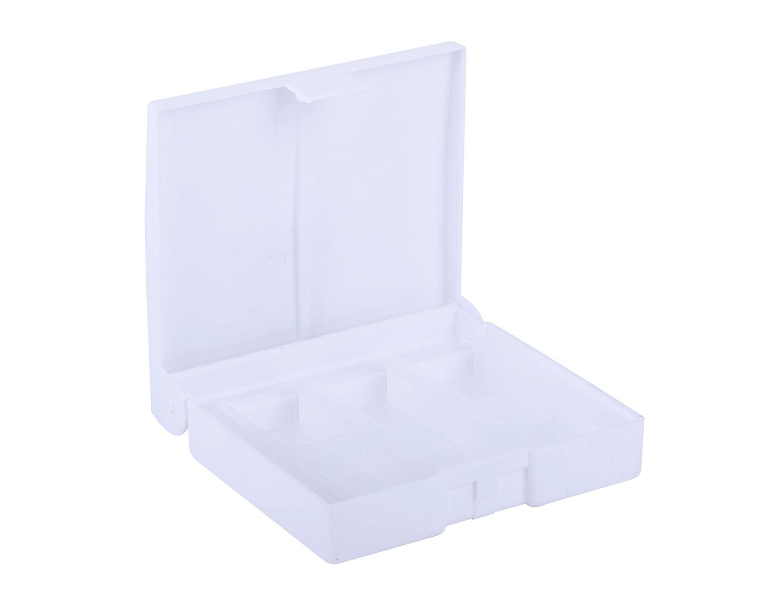 Пенал для акварели 12цв пластик