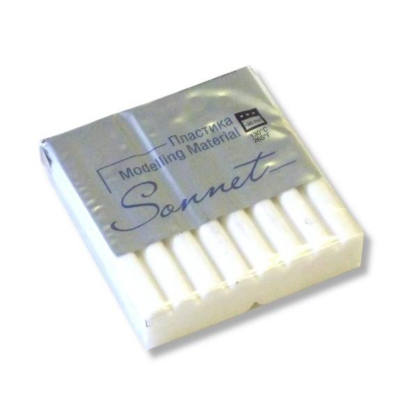Пластика Сонет брус 56гр. белый