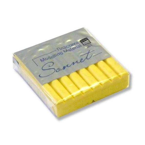 Пластика Сонет брус 56гр. желтый