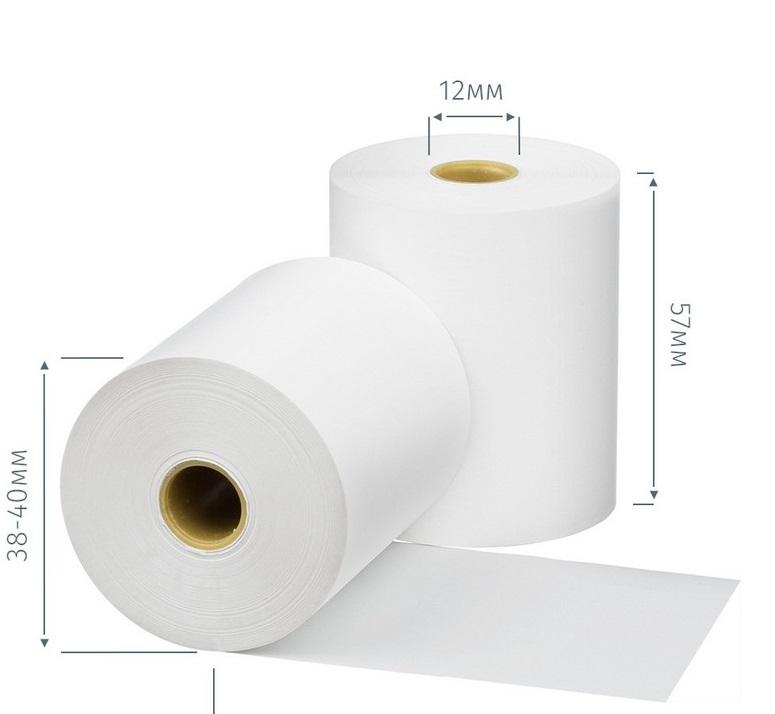 Рулон д/кас.ап. термо 57*40*12 (35м) Promega
