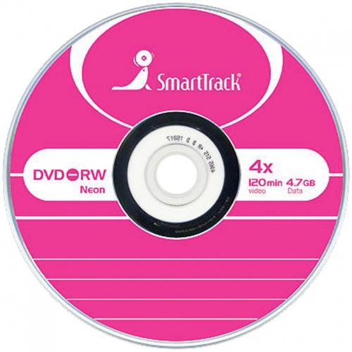Диск DVD-RW Smart Track 4x (Slim)