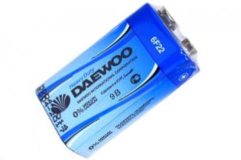 Батарейка 6F22 DAEWOO