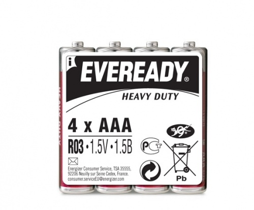Батарейка Energizer EVEREDY HD R03
