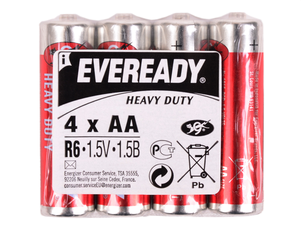 Батарейка Energizer EVEREDY HD R06