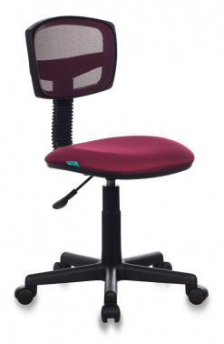Кресло Бюрократ CH-299/CH/15-11 спинка сетка бордовый сиденье бордовый 15-11