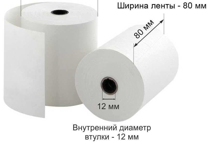 Рулон д/кас.ап. термо 80* 80*12 (70м) Promega