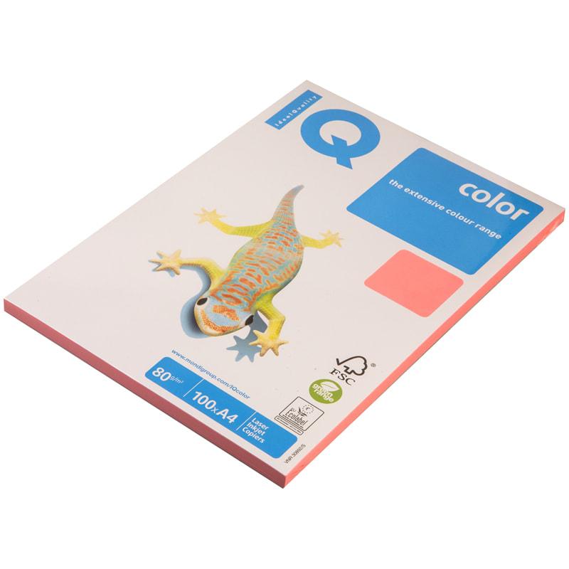 """Бумага """"IQ Color"""" А4 80г/м2 100л Neon розовый"""