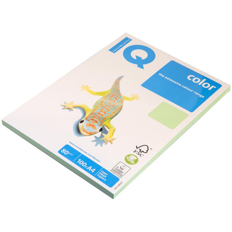 """Бумага """"IQ Color"""" А4 80г/м2 100л Pale зеленый"""