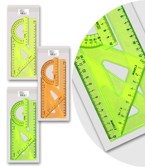 Линейки набор СТАММ средний Neon Cristal
