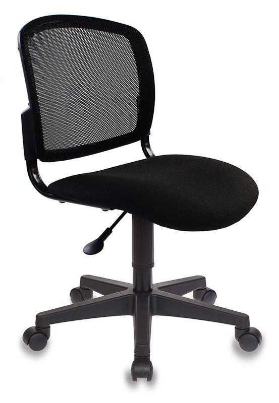 Кресло детское Бюрократ CH-296NX/15-21 черный спинка сетка