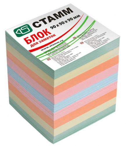 Блок д/зап. СТАММ 9*9*9 цветной 5цв.