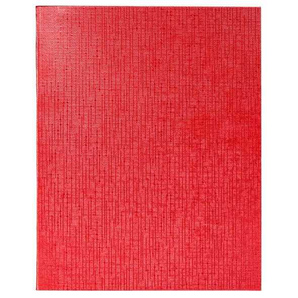 Тетр. 96л бумвин. Хатбер Metallic красная