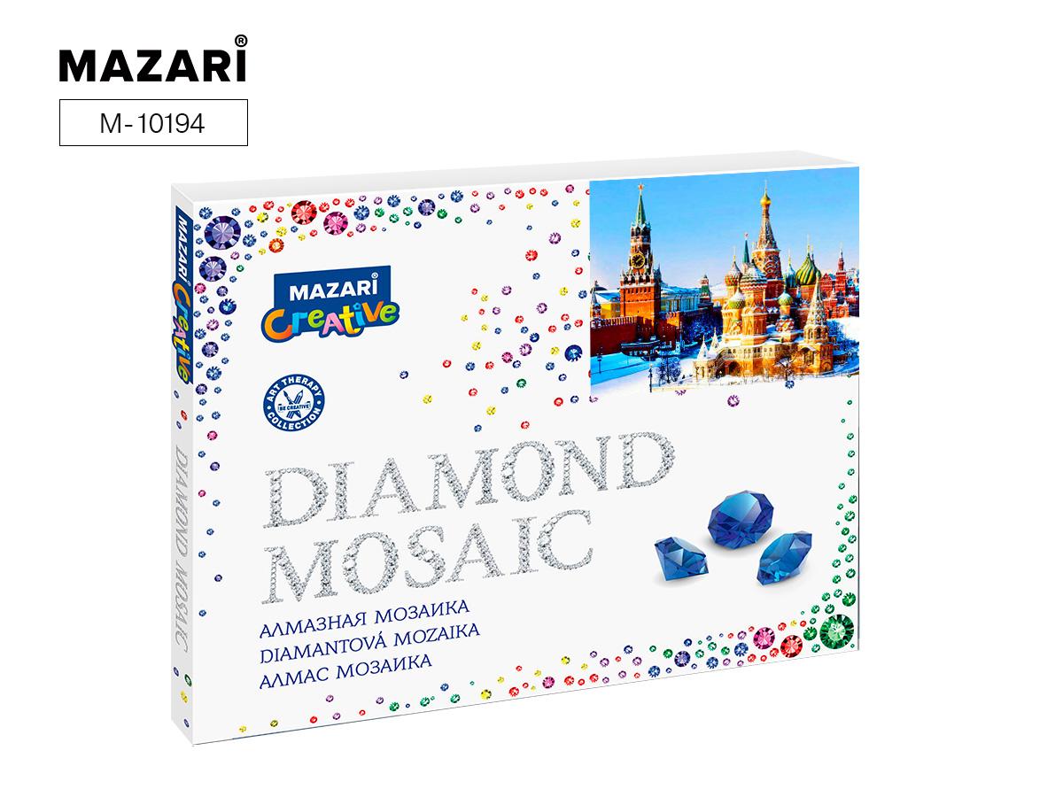 Алмазная мозаика полная выкладка 40*50см Московский кремль